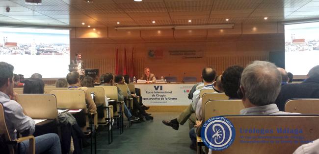 Una de las ponencias en el VI Curso Internacional de Cirugía Reconstructiva de la Uretra en Madrid