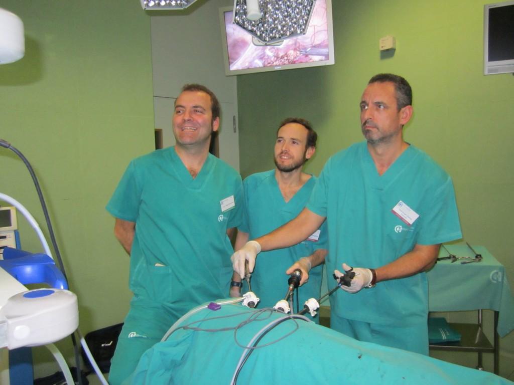 Laparoscopia: realizando una pieloplastia laparoscópica en modelo porcino
