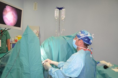 Dr. Gomez Pascual realiza RTU en cáncer vejiga Málaga